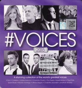CD VOICES 2015 Steigern Audiophile Remastered 2CD