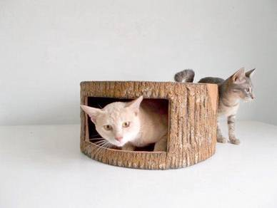 Log House for Cats