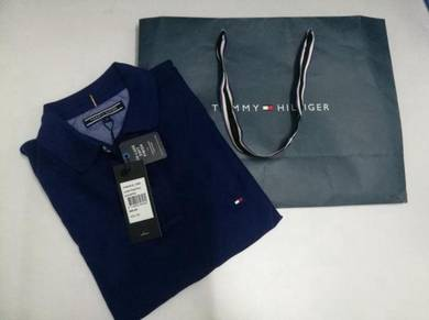 [Authentic] Tommy Hilfiger Luxury Pique Polo - S
