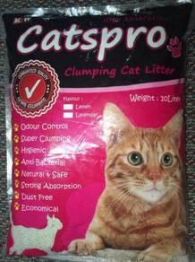 Catspro cat litter 10l ( lemon )