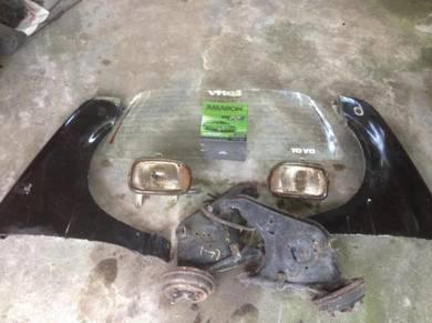 Lampu kaca L2 L200 part