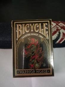 Bicycle warrior horse cards deck