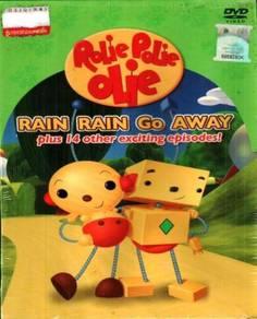 DVD Rolie Polie Olie Rain Rain Go Away + 14 Other