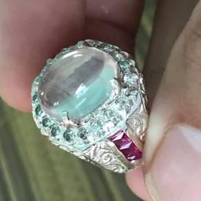 Cincin ros quartz original burma kod 09