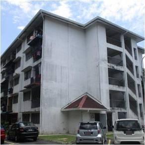 Low Cost Apartment, Taman Bunga Negara, Seksyen 27, Shah Alam [592sf]