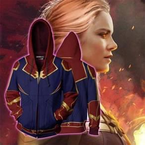 Captain Marvel hoodie jacket RBT0096