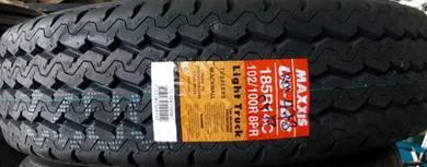 Tayar Baru Maxxis UE168 Van 185R14 Tyre New 2019