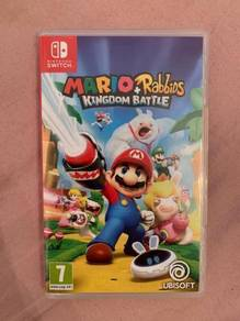 Nintendo Switch Mario Rabbids Kingdom