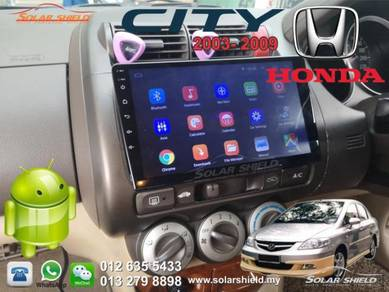Honda City 2003 2009 Android Player GPS Waze