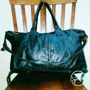 Tote Bag Leather Six Degrees