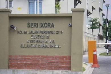 Apartment Seri Ixora, Section 27 Shah Alam