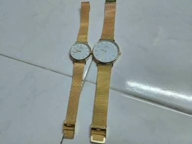 Jam Couple Gold White