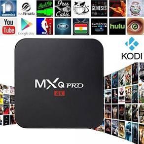 (PRO AMLOGIC 4K) MXQ IPTV Tv Box DECODER 7.1