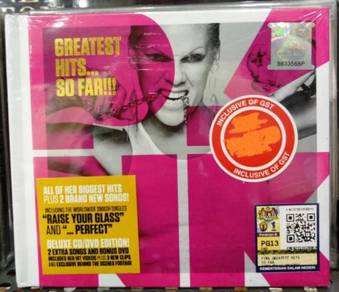 CD+DVD Pink Greatest Hits So Far Deluxe Edition
