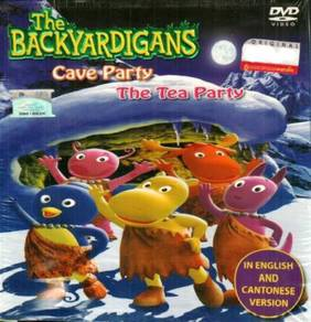DVD The Backyardigans Cave Party The Tea Party