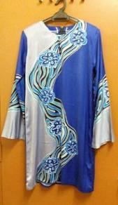 Preloved baju kurung modern ala batik