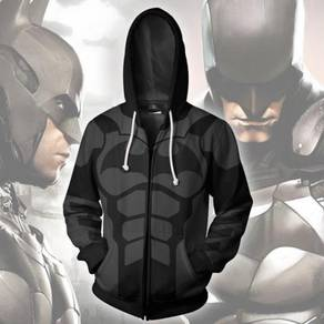 Batman black dark knight hoodie jacket RBT0101