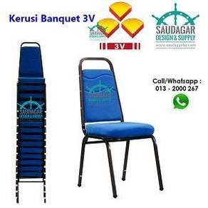 Kerusi banquet murah 3v banquet chair