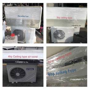 2hp - 5hp ceiling type aircond (F2)