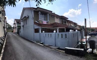 CANTIK & MURAH! Double Storey Terrace End Lot Cheras Mahkota