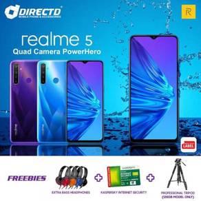 RealMe 5 (4GB RAM | 4 KAMERA BLKG | 5000 mAh)MYset