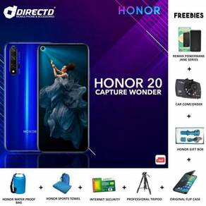 HONOR 20 (6GB RAM/128GB)+ 8 Hadiah + DISKAUN RM300
