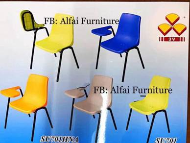 New Plastic Flip Chair Student Chair [ALFAI]