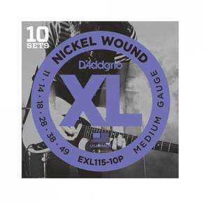 D'Addario EXL115-10P Propack Wound Strings -10 set