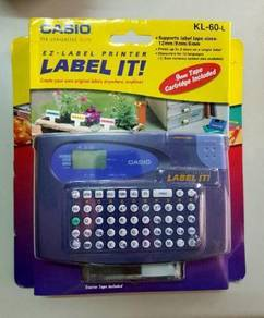 Casio GenuineLabel PrinterKL-60