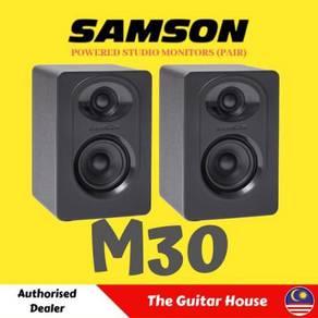 Samson MediaOne M30 Powered Studio Monitors - Pair
