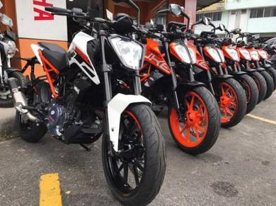 KTM Duke 250 (New MY17) Free Apply Senang Lulus
