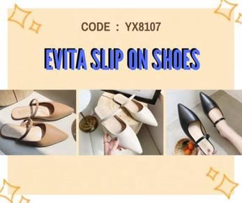 8107 Evita Slip On Platform Shoes