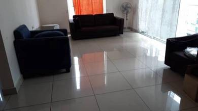 M Condo Larkin FOR RENT, FULLY Furnished High Floor 3Room 2Bath 1100sf