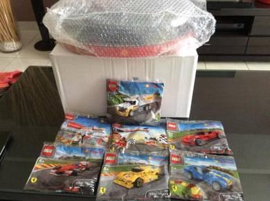 Lego Shell Ferrari 2015 Complete Set