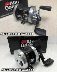 ABU GARCIA 6501 / 4601 Classic C3 - MADE IN SWEDEN