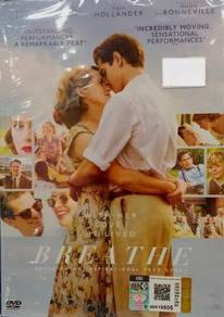 DVD English Movie Breathe Andrew Garfield Claire F