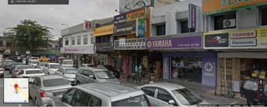 2 storey Taman Midah Shop Cheras , Yulek , Leisure mall | 22x70