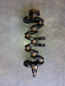 4G13 crankshaft and piston
