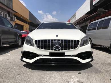 Mercedes benz W176 A45 Facelift AMG bodykit