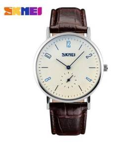 Skmei 9120 women leather strap watch