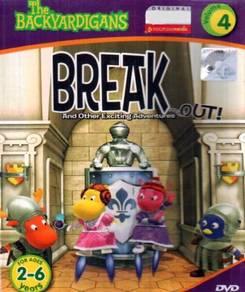 DVD The Backyardigans Break Out Vol.4
