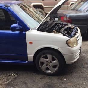 Kelisa scrap car 2007