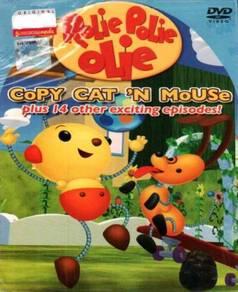 DVD Rolie Polie Olie Copy Cat'n Mouse + 14 Other E