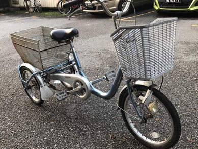 Basikal bridgestone 3 roda