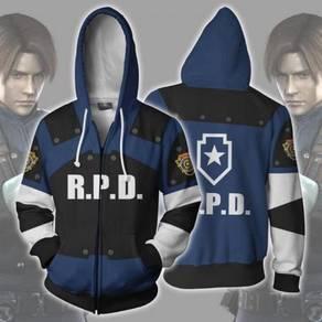 Resident Evil RPD STARS Raccoon hoodie RBT0109