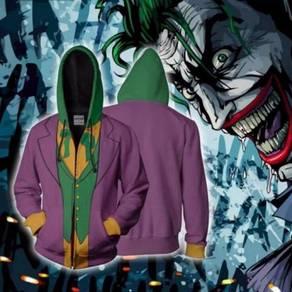 Joker purple green hoodie jacket RBT0102