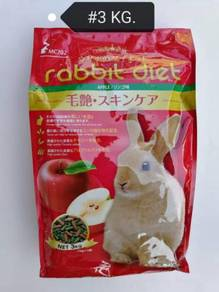 Rabbit Diet Apple Food Feed Makanan Arnab 3kg Epal