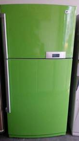 LG Refrigerator Fridge Peti Sejuk Green Ais Recond