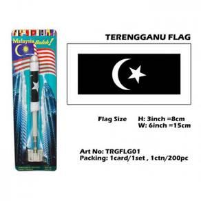 Terengganu flag with spring