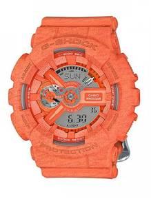 Casio G-Shock S Series Orange Watch GMA-S110HT-4A